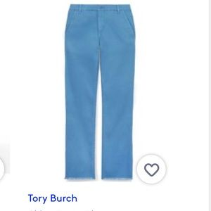 Tory Burch Blue Chino Pant 30